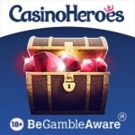 Choose Your Own Welcome Offer With Casino Heroes – £400 Welcome Bonus plus 200 Extra Spins or 600 Free Spins