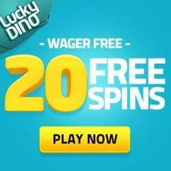 Lucky Dino Casino 20 Free Spins on Starburst