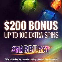 Viking Slots Casino 20 free spins no deposit on starburst