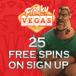 25 Free Spins No Deposit at FreakyVegas Casino