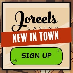 Joreels casino 100 EUR Bonus & 50 complementary spins