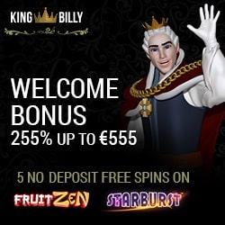 king billy casino no deposit