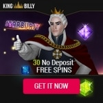 Exclusive 30 Starburst Free Spins plus €1000 Welcome Package & 200 Extra Spins at King Billy Casino