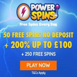 Poer Spins 50 Free Spuins on Starburst