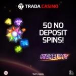 50 Free Spins No Deposit at trada Casino